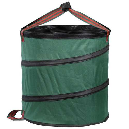 Foldable Garden Spring Collecting Bucket Bag  Collapsible Leaves Housekeeping Storage Baskets