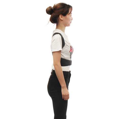 Plus Size Adjustable Posture Corrector Hunchbacked Support