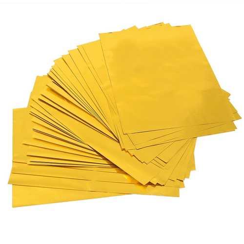 100pcs Foil Paper Plastic Packaging Machine Dedicated A4 Hot Stamping Printer Paper Art