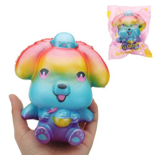 Galaxy Puppy Squishy 14*7.5*8CM Slow Rising With Packaging Collection Gift Soft Toy