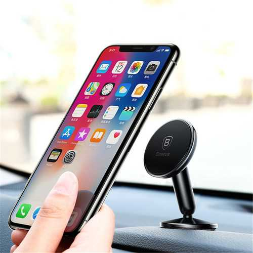 Baseus Metal Powerful Magnetic Car Dashboard Phone Holder Stand for Samsung Mobile Phone