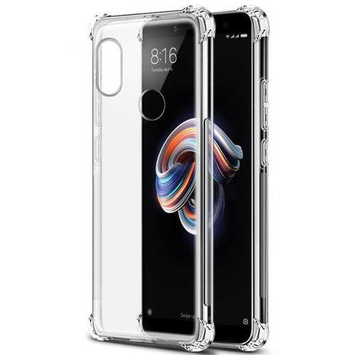 Bakeey Transparent Shockproof Soft TPU Protective Case For Xiaomi Mi A2 / Xiaomi Mi 6X