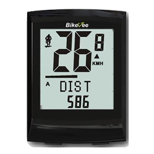 Bikevee BKV-8500 Wireless 21 Functions Waterproof LCD Bike Computer Odometer Speedometer Cyclometer