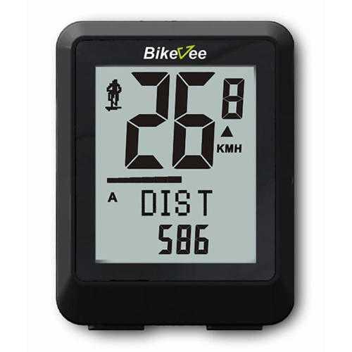 Bikevee BKV-9500 Wireless 22 Functions Waterproof LCD 5 Languages Bike Computer Odometer Speedometer