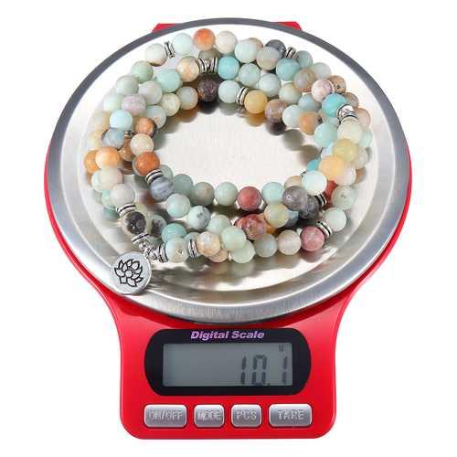 3kg/0.1g Mini Digital Jewelry Scale Round Shape