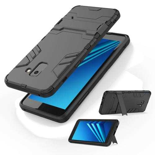 Bakeey 2 in 1 Armor Kickstand Hard PC Protective Case for Samsung Galaxy A8 2018