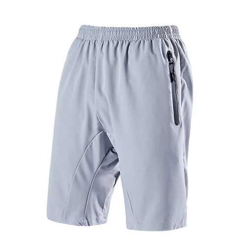 Mens Quick Drying Jogger Loose Sports Knee-Length Shorts
