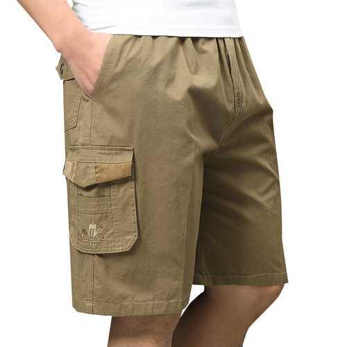 Men's Summer Large Size Loose Cargo Shorts