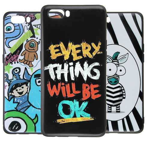 Bakeey Ultra Slim Cartoon Painting Soft TPU Protective Case for Nubia M2