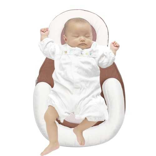 Baby Bed Infant Bassinet Crib Cradle Nursery Travel Newborn Sleeper Bag Back Support Pillow Cushion