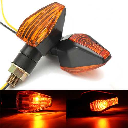 12V Universal Motorcycle Bike Signal Indicator Turn Lights Lamp Bulb Blinker
