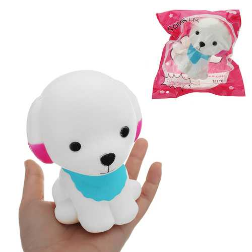 Teddy Cartoon Puppy Squishy 12.5*9.5CM Slow Rising With Packaging Collection Gift Soft Toy