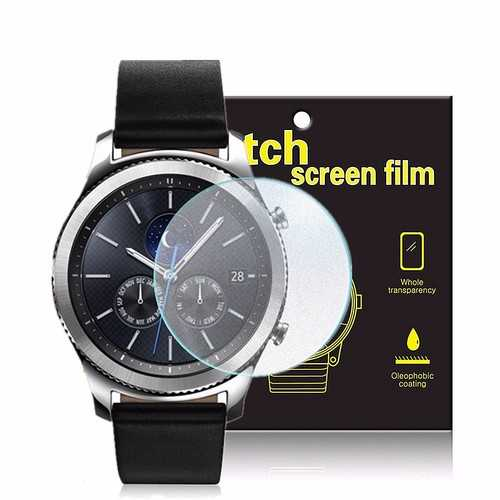 3 Packs Soft TPU Watch Screen Protector For Samsung Galaxy Gear S3 Frontier/Classic