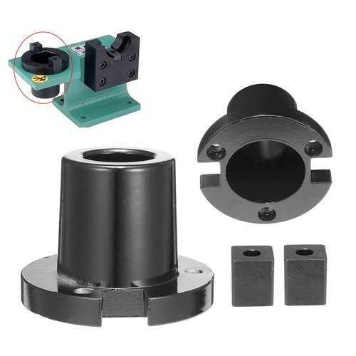 CAT40 Billet Aluminum Tool Holder Tightening Vise Mounting Fixture Set