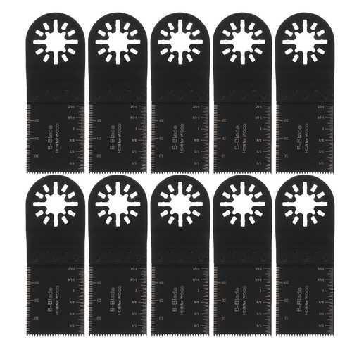 10Pcs 35mm Oscillating Multi Tool Saw Blade For Fein Multimaster Makita Oscillating Tools