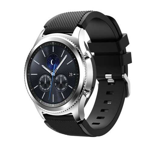 Silicone Watch Band Wrist Strap For Samsung Galaxy Gear S3 Frontier/Classic