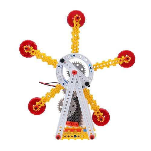 HIQ B714 Electric Ferris Wheel 88PCS Blocks Toys Building Educational Bricks