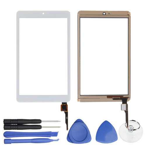 White LCD Touch Screen Digitizer For ACER ICONIA ONE 8 B1-850 A6001 8 Inch w/Tools