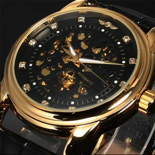 Casual Style Full Steel Luxury Automatic Mechanical Watch