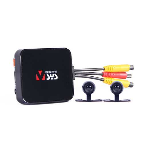 VSYS C6L Motorcycle Cam DVR Camera Recorder with Dual Waterproof Lens Black Box