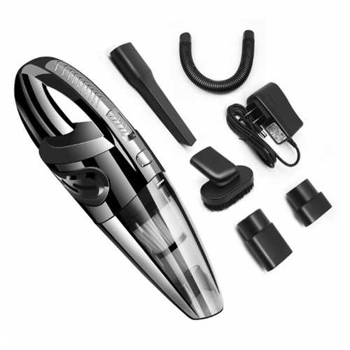 RUNDONG R-6053 Car Vacuum Cleaner 120W Wet And Dry Dual Use Portable Vacuum Cleaner