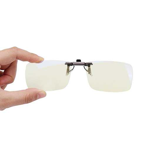 XIAOMI TS Clip On Sunglasses Anti Blue-ray Glasses Eyes Protection 110° Rotary For Computers Phones Users