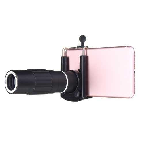 14X50 Zoom Optical HD Lens Telescope +Tripod+Clip For Mobile Phone