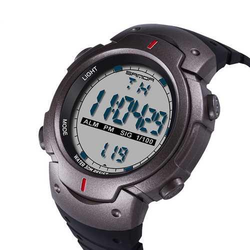 SANDA 269 Motion Timing Stopwatch Luminous Digital Watch