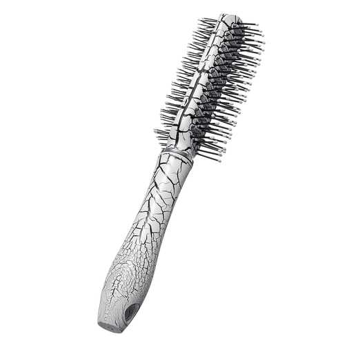 Crackle Forming Design Plastic Hair Comb Brush Straight