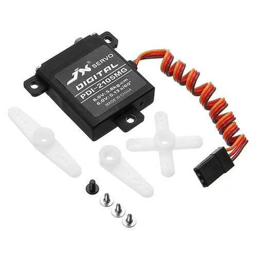 2Pcs JX Servo PDI-2105MG 21g High Torque Digital Standard Servo For RC Model