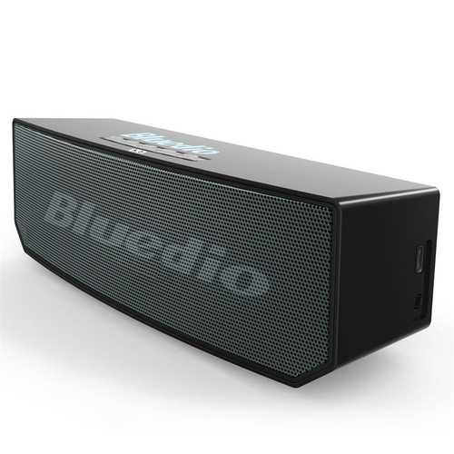 Bluedio BS-6 Smart Cloud Wireless bluetooth Speaker 3 Drviers Voice Control Bass Stereo Soundbar