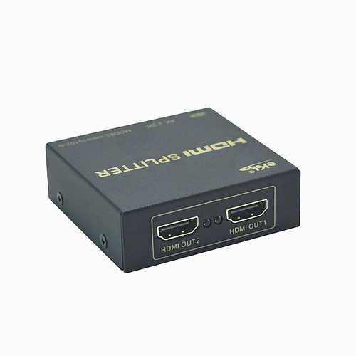 EKL 1 In 2 Out Full HD 3D 4K*2K 1080P Video Hdmi Splitter Adapter for HDTV