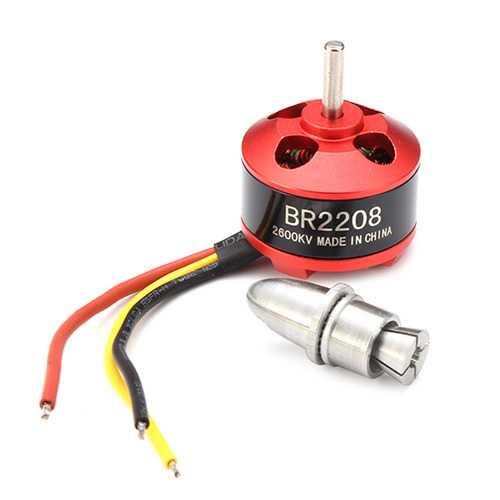 2Pcs Racerstar BR2208 2600KV 2-3S Brushless Motor For RC Models