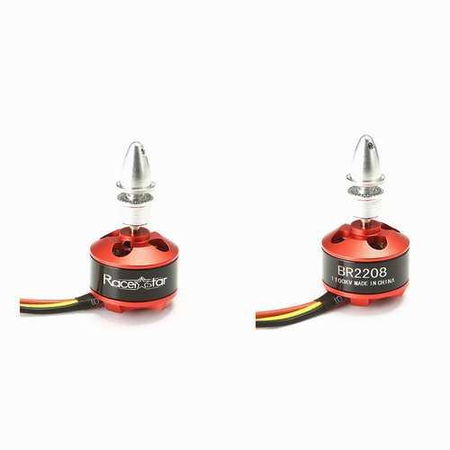 2PCS Racerstar BR2208 1100KV 2-4S Brushless Motor For RC Models