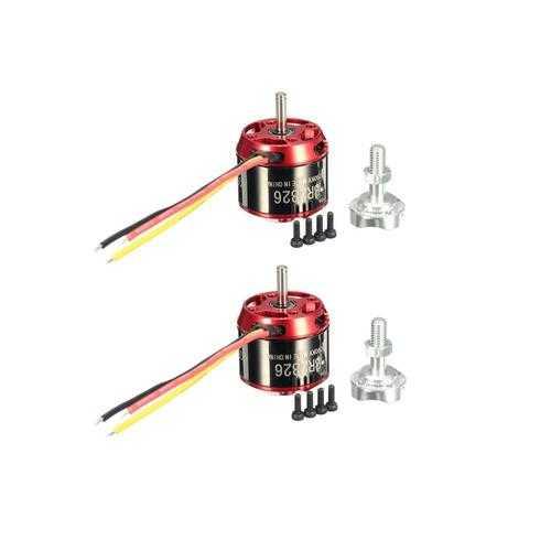 2 PCS Racerstar BR2826 1290KV 2-4S Brushless Motor For RC Models