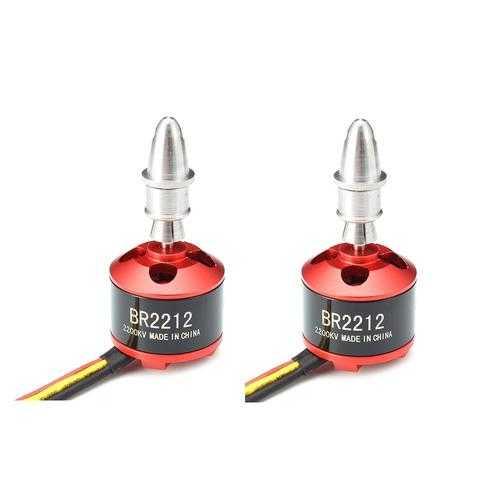2 PCS Racerstar BR2212 2200KV 2-3S Brushless Motor For RC Models