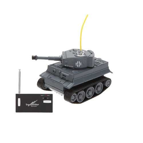 Happy Cow 777-215 4CH Mini Radio RC Car Army Battle Infrared Tank with LED Light RTR Model Toy