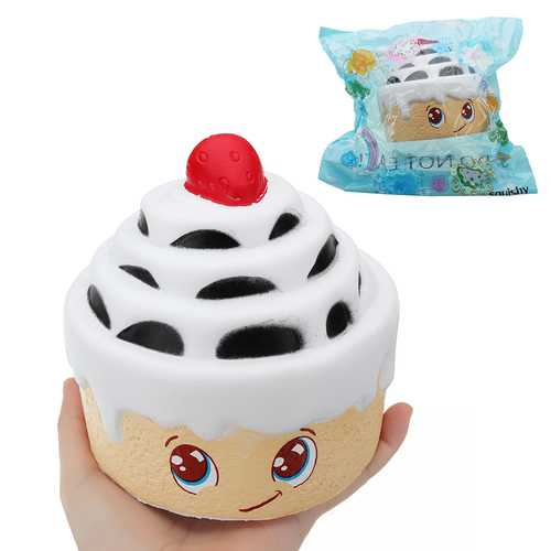 Strawberry Multilayer Cake Squishy 12.5*12.5CM Slow Rising With Packaging Collection Gift Soft Toy