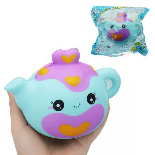 Smile Teapot Squishy 14*11CM Slow Rising With Packaging Collection Gift Soft Toy