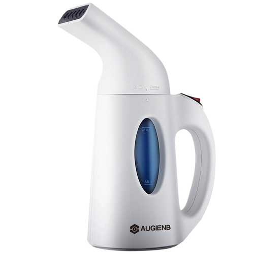 AUGIENB 700W 150ml Travel Clothes Steamer Ultra Fast Heat Up Powerful Wrinkle Remover Handheld Steam Iron