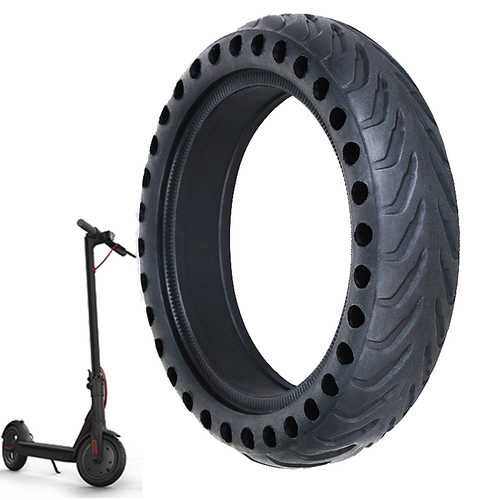 BIKIGHT 8 1/2X2 Scooter Explosion-proof Solid Tire for Xiaomi Mijia M365 Electric Scooter Segway Ninebot ES1 ES2
