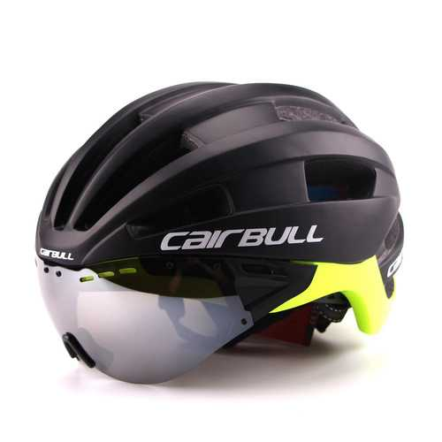 CAIRBULL-04 58-68cm Cycling Helmets Detachable Ventilation Goggles Road Bike Helmet MTB