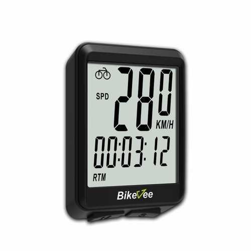 Bikevee BKV-1507 Wireless 15 Functions LCD Digital Odometer Bike Computer Entry Level Computer