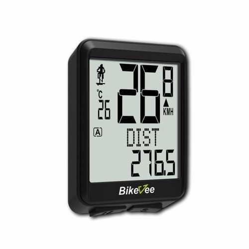 Bikevee BKV-1527 Wireless Waterproof 22 Functions 5 Languages LCD Bike Bicycle Computer Stopwatch