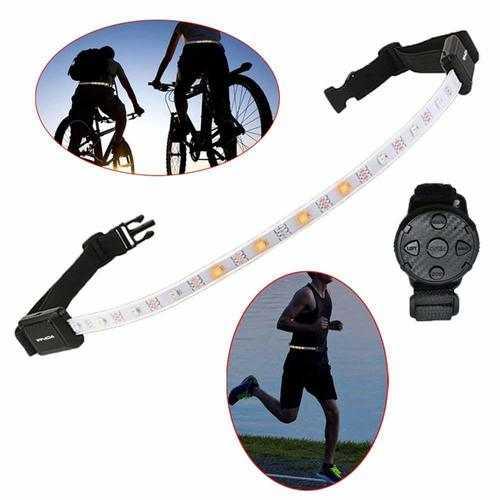 XANES WL01 LED Reflective Belt Light Wireless Remote Control Waist Belt Lamp Safety Warning Light