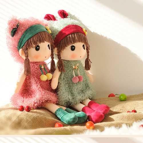 Metoo 40cm Large Cartoon Doll Mayfair Stuffed Plush Toy Wedding Rag Doll Christmas Gift Girl's Kids Birthday