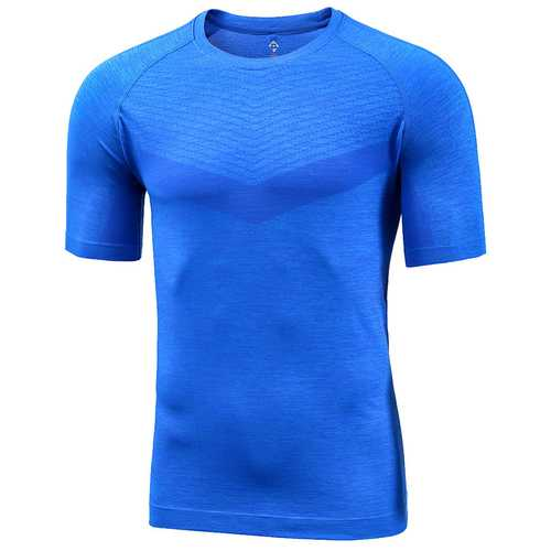 Proease Outing Men Summer One Piece Weaving Light Casual Sport Short Sleeve T-Shirts From Xiaomi Youpin