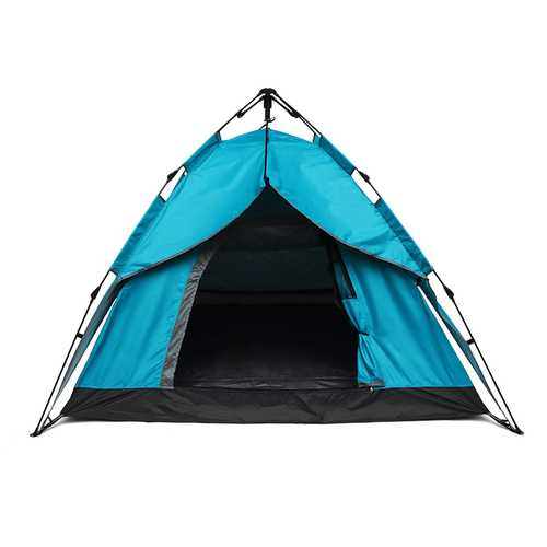2-3 Person Camping Tent Instant Automatic Double Layers Outdoor Sunshade