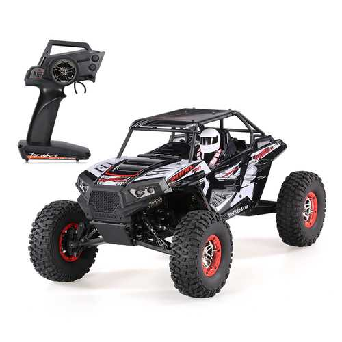Wltoys 10428-B2 1/10 2.4G 4WD 40km/h Racing Rc Car Rock Crawler Off-Road Truck RTR Toy