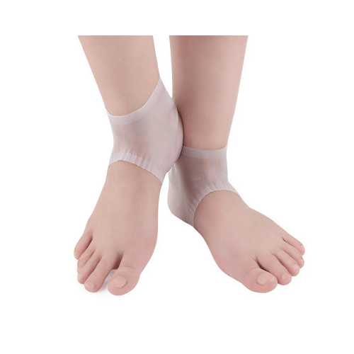 PD-305 Soft Comfortable Bandage Design Silicone Pad Heel Cover